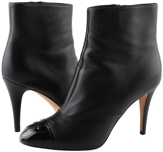 Item - Black Cap Toe Boots/Booties Size US 8 Wide (C, D)