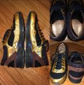 Chanel Black/Brown/Gold Runway Tweed Sneakers Size US 9 Regular (M, B) Chanel Black/Brown/Gold Runway Tweed Sneakers Size US 9 Regular (M, B) Image 4