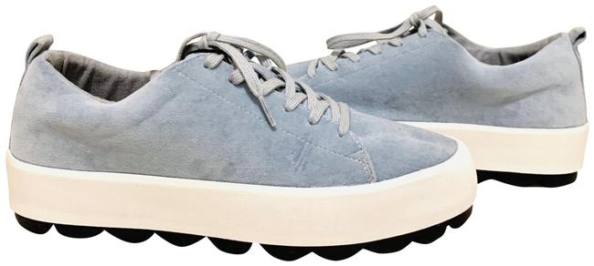 Item - Light Blue Women's Velvet Platform Sneakers/Sz:11/Nwt Sneakers Size US 11 Regular (M, B)