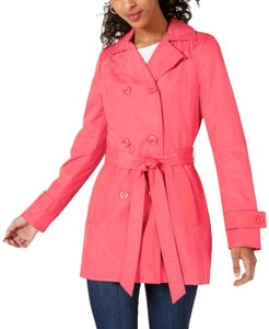 Celebrity Pink Trench Coat