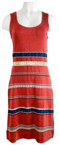 Peruvian Connection short dress Red on Tradesy