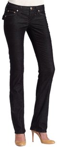 Stitch's Distressed Low Rise Straight Leg Jeans-Distressed