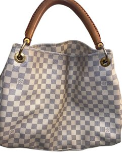 Louis Vuitton Tote in White and Gray