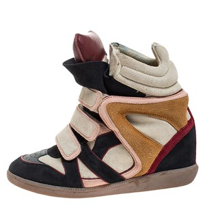 Isabel Marant Suede Leather Multicolor Athletic