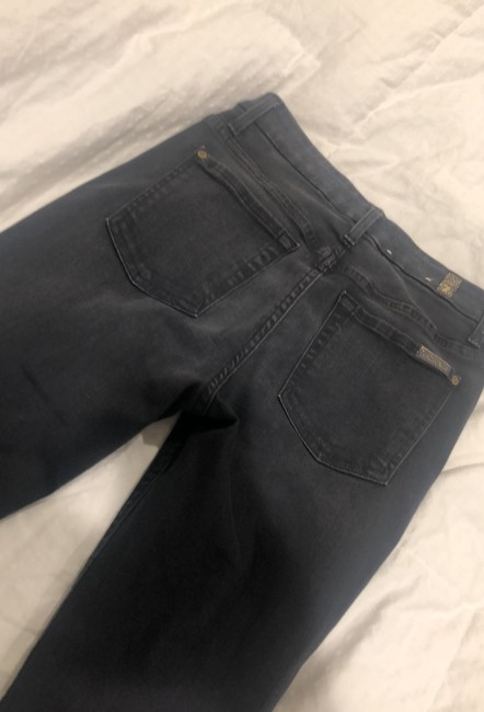 7 For All Mankind Dark Gray Rinse Seven High Waist Ankle Skinny Jeans Size 4 (S, 27) 7 For All Mankind Dark Gray Rinse Seven High Waist Ankle Skinny Jeans Size 4 (S, 27) Image 6