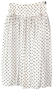 Valentino Skirt Black and Ivory