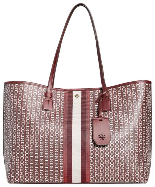 Item - Gemini Link Royal Burgundy Canvas Tote