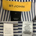 St. John Blue & White Navy/White Striped Pants Size 2 (XS, 26) St. John Blue & White Navy/White Striped Pants Size 2 (XS, 26) Image 9