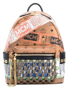 MCM Limited Edition Monogram Flight Limited Edition Backpack