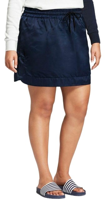 Item - Navy Blue XS For Target Satin - X-small (New with Tag) Skirt Size 0 (XS, 25)