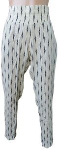 Beach Riot New With Tags Carter Joggers White Black Viscose Easy Fit Relaxed Pants Ivory