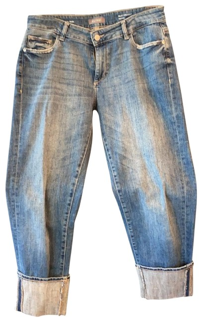 Item - Denim Medium Wash Riley Straight Relaxed Fit Jeans Size 6 (S, 28)
