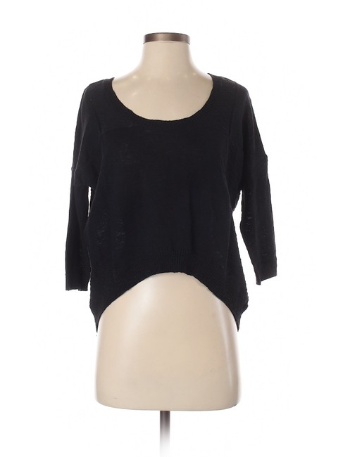 Item - High Low Oversized Black Sweater