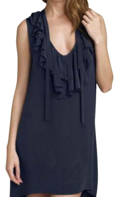 Item - Black Gilly Ruffle Short Night Out Dress Size 4 (S)