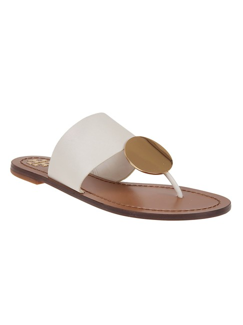 Item - Ivory / Gold Patos Sandals Size US 9.5 Regular (M, B)