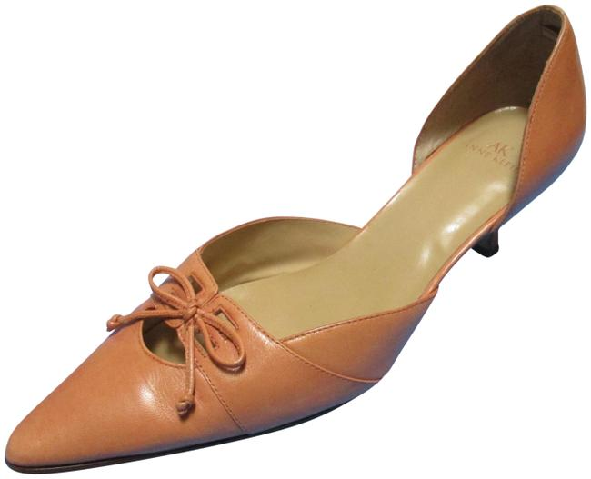 Item - Peach Tangerine Pointed Toe D'orsay Pumps Size US 8.5 Regular (M, B)