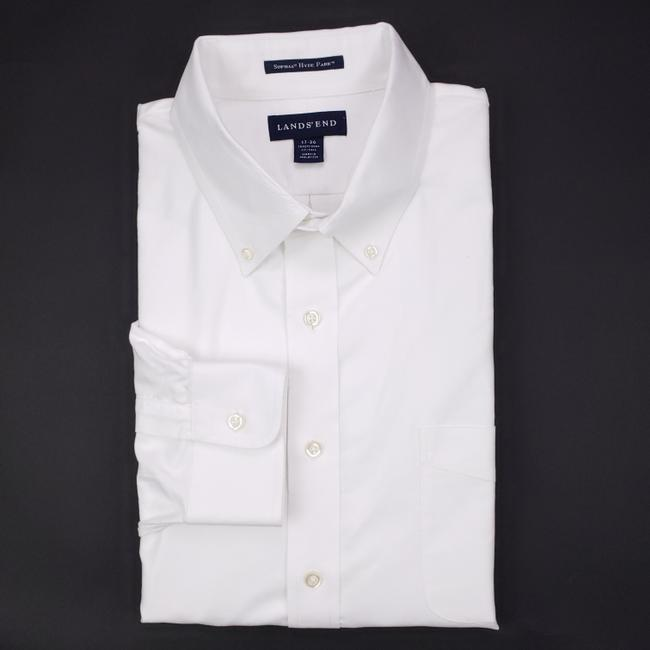 Item - White Dress 17 36 Traditional Fit Tall Supima Hyde Par Shirt