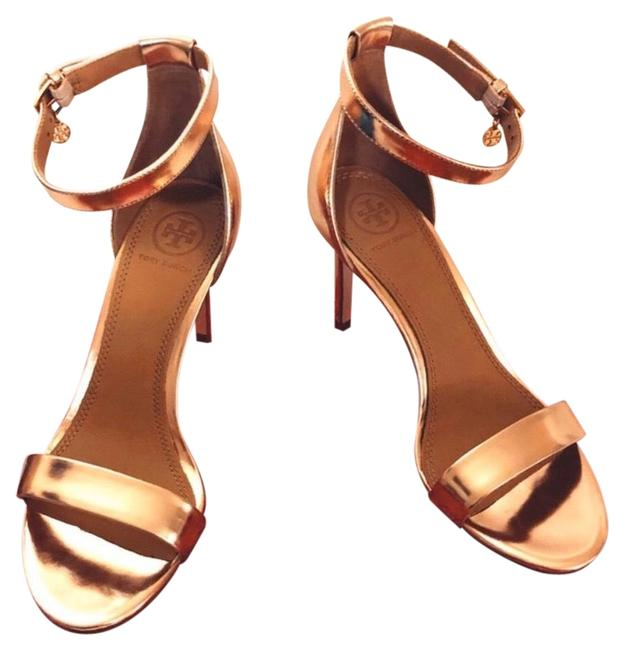 Item - Rose Gold Ellie Ankle Strap Formal Shoes Size US 7 Regular (M, B)