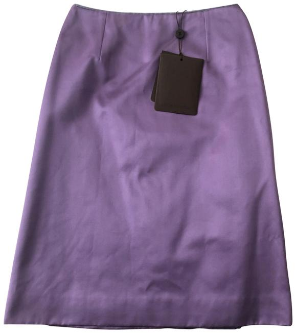 Item - Purple Satin-silk A-line Skirt Size 4 (S, 27)
