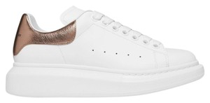 Alexander McQueen white gold Athletic
