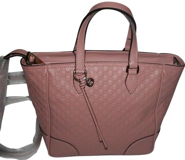 Item - Bag ssima Gg Handbag Soft Pink Leather Tote