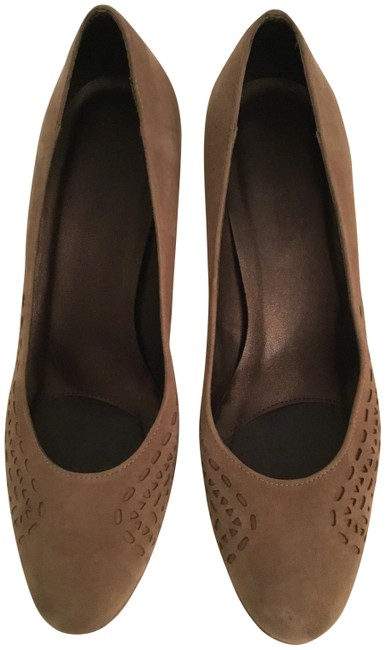 Vaneli Taupe Pumps Size US 8.5 Narrow (Aa, N) Vaneli Taupe Pumps Size US 8.5 Narrow (Aa, N) Image 1