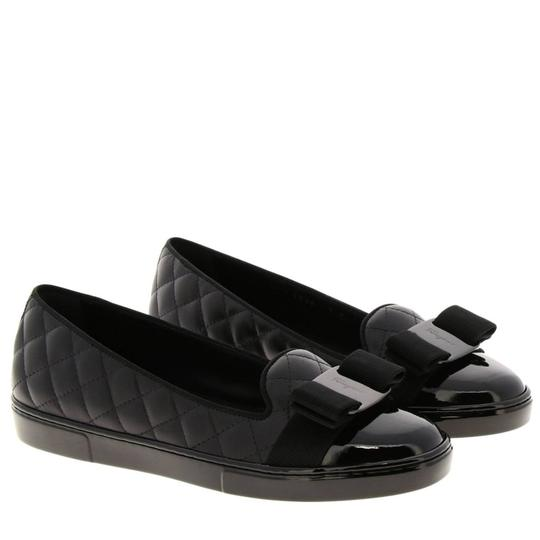 Preload https://img-static.tradesy.com/item/27098694/salvatore-ferragamo-black-new-lady-q-quilted-sneaker-c-flats-size-us-7-wide-c-d-0-0-540-540.jpg