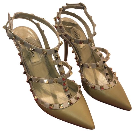 Preload https://img-static.tradesy.com/item/27098933/valentino-taupe-rockstud-caged-100-leather-ankle-strap-pumps-size-eu-37-approx-us-7-regular-m-b-0-1-540-540.jpg