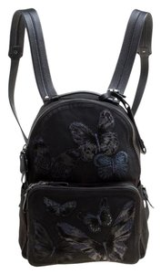 Valentino Canvas Leather Backpack