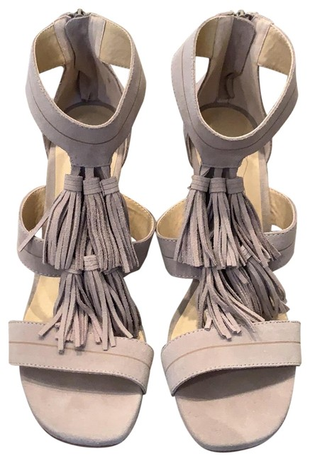 Chinese Laundry Tan Suede Sandals Size US 10 Regular (M, B) Chinese Laundry Tan Suede Sandals Size US 10 Regular (M, B) Image 1