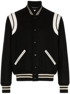 Saint Laurent Teddy Varisty Teddy Classic Teddy Black Jacket