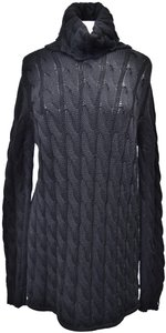 Emerson Fry short dress Black Knit Cable Knit Sweater on Tradesy