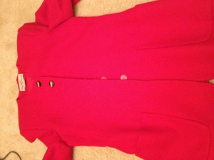 Oleg Cassini Red Blazer