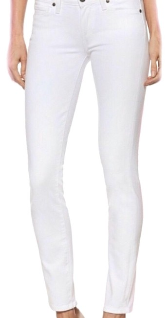 Item - White Hollywood Hills Skinny Jeans Size 4 (S, 27)