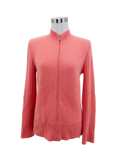 Item - Pink N1143 Jacket Small Kit Long Sleeve Cashmere Blazer Size Petite 4 (S)
