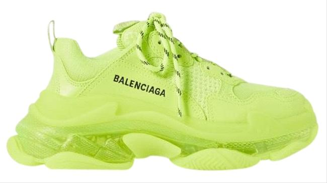 Item - Triple S Clear Sole Neon Dad Sneakers Size EU 39 (Approx. US 9) Regular (M, B)