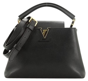 Louis Vuitton Capucines Leather Shoulder Bag