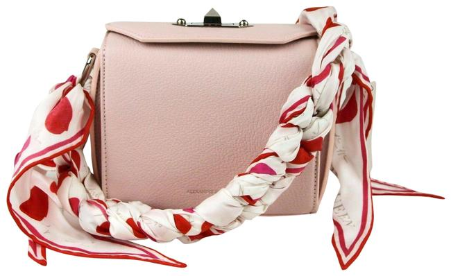 Item - Box 16 with Silk Scarf 506172 5852 Baby Pink Leather Cross Body Bag