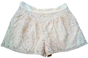 Ella Moss Size Small Lace Dress Shorts Ivory