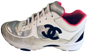Chanel Black, Pink, White, Silver. Athletic