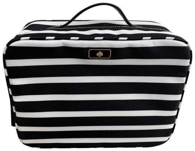 Item - Black/White Dawn Sailing Stripe Travel Wlru5729 Cosmetic Bag