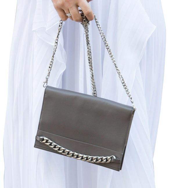 Item - Bcbg Max Azria Zarina Convertible Wallet On A Chain Slate Grey Cross Body Bag