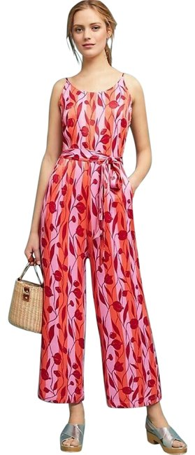 Item - Nwot Chilli Red Charlee Belted Numph Romper/Jumpsuit
