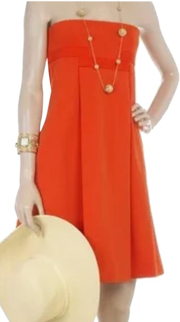Item - Orange Kacia Mid-length Casual Maxi Dress Size 10 (M)