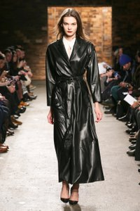 Billy Reid Leather Trench Coat
