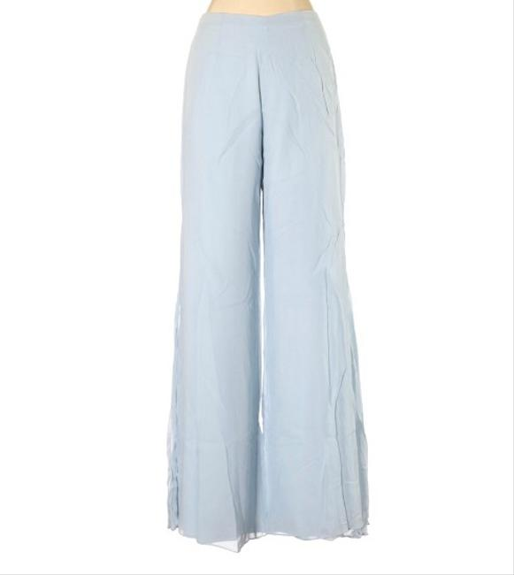 Item - Sky Blue Evening Palazzo Accordion Pleated Pants Size 6 (S, 28)