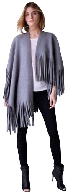 Item - Grey Runway Poncho/Cape Size OS (one size)