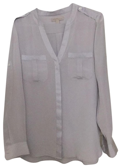 Item - Light Grey Heritage Collection Blouse Size 8 (M)