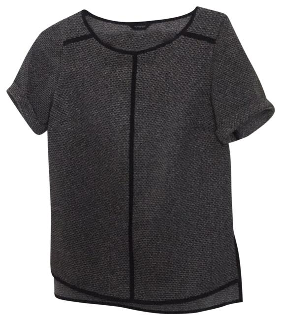 Item - Black and Grey Blouse Size 10 (M)