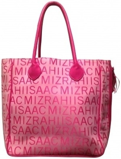 Preload https://img-static.tradesy.com/item/27107/isaac-mizrahi-signature-pink-medium-strawberry-tote-0-0-540-540.jpg